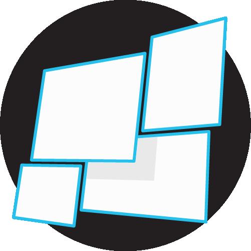 Diseño icono para web cartelería digital Showspot