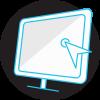 Diseño icono para web post produccion Showspot